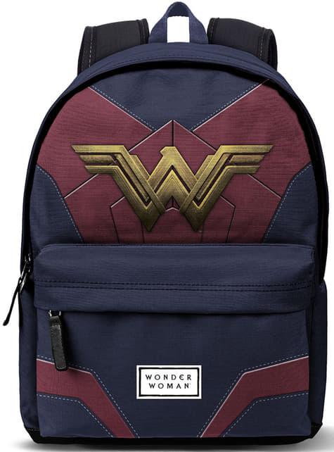 Wonder Woman Rucksack Classic mit USB-Ladeanschluss