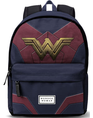 Batoh s USB portem klasický Wonder Woman