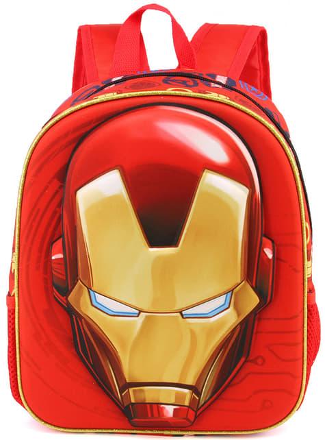 Mochila escolar de Iron Man reversible