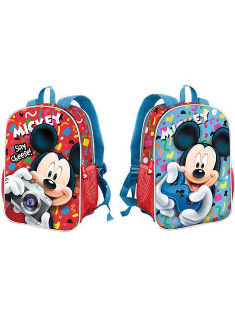 Mickey Mouse Reversible School Backpack - Disney