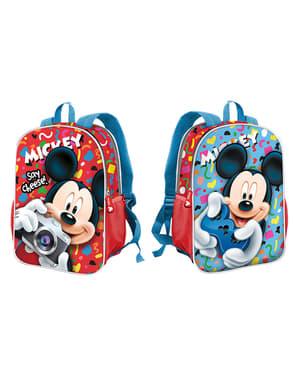 Dwustronny plecak szkolny Myszka Miki – Disney