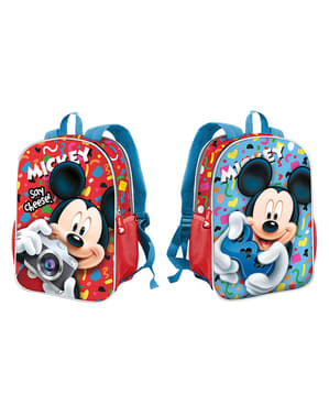 Mickey Mouse Reversible School Backpack - Disney