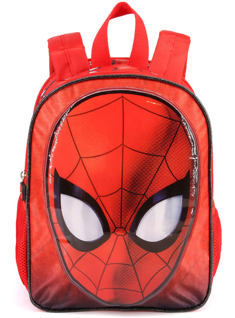 Mochila escolar de Spiderman reversible