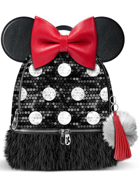 Mochila Minnie Mouse con orejas y topos pequeña - Disney