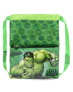 Mochila saco de Hulk para menino