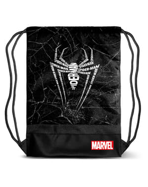 Mochila saco de Spiderman para hombre