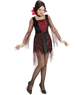 Strój wampirzyca pajęczyna damski