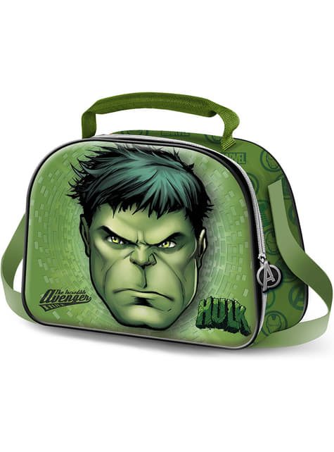 Portameriendas 3D de Hulk