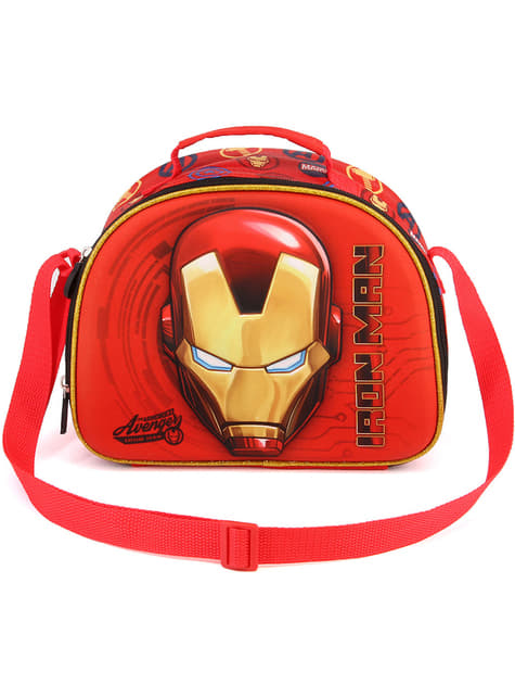 Portameriendas 3D de Iron Man