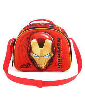 Iron Man 3D Lunch Bag