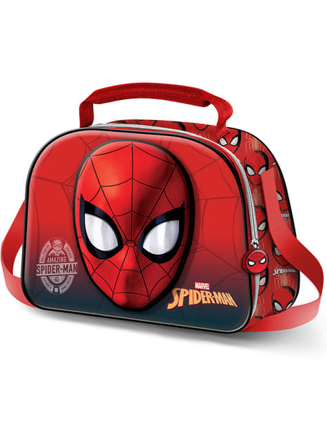 Spiderman 3d Lunch Bag Official For Fans Funidelia
