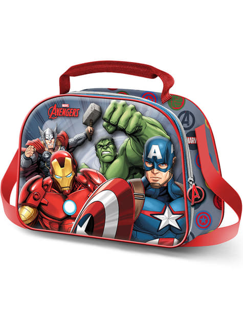 3D box na oběd The Avengers