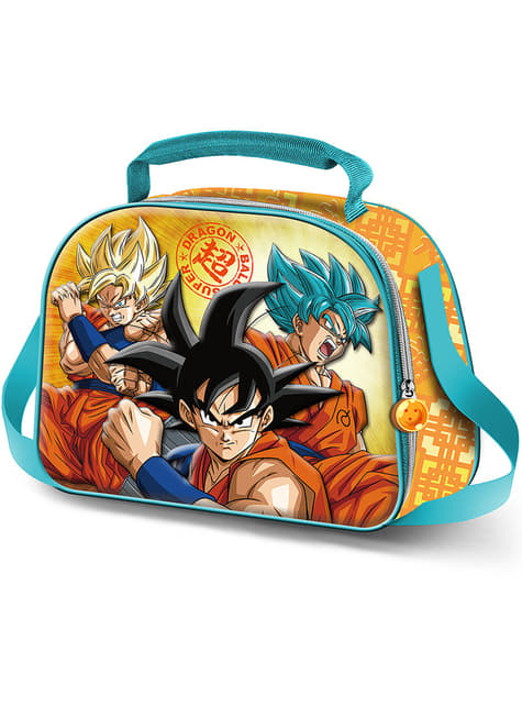 3D Dragon Ball Sayan thermische lunchtas