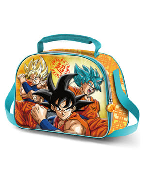 Portameriendas 3D Dragon Ball Sayan