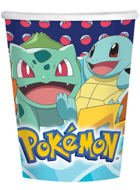 8 gobelets Pokémon - Pokémon Collection