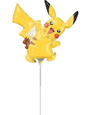 Mini Ballon aluminium Pikachu - Pokémon Collection