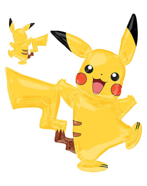 Giant Pikachu Foil Balloon - Pokémon Collection