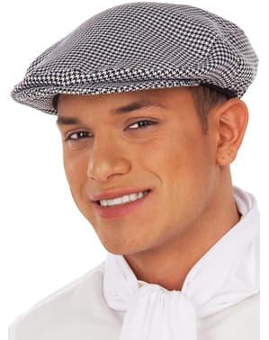 Madrileño chulapo flat cap for kids