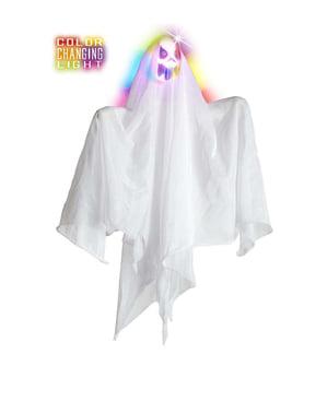 रंगीन रोशनी के साथ भूत 50 सेमी