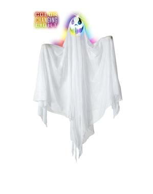 रंगीन रोशनी के साथ भूत 90 सेमी