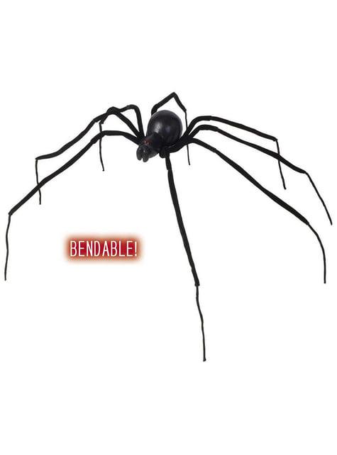 Araña Viuda negra moldeable 110 cm