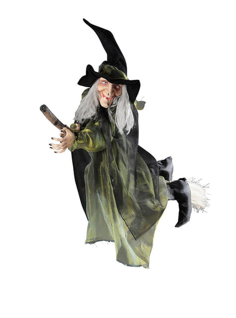Dekoracyjna czarownica latająca