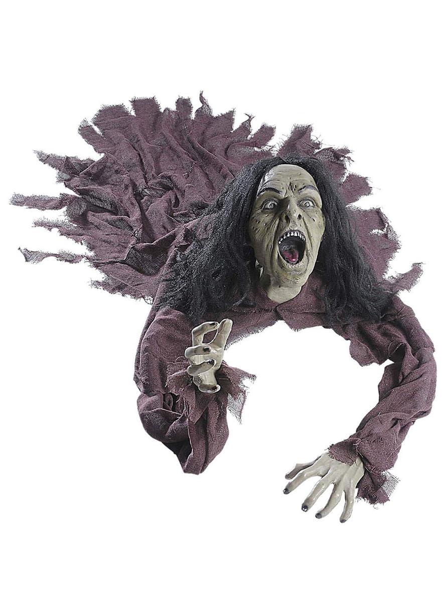 sprechende ber den boden geschleifte hexe mit leuchtenden augen f r halloween funidelia. Black Bedroom Furniture Sets. Home Design Ideas
