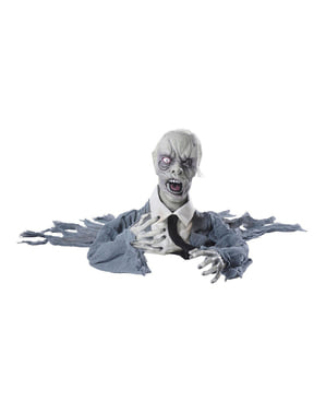Húzta Zombie forgó fej, Hang és fény