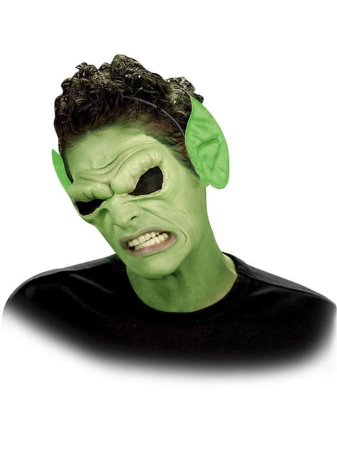 Orejas puntiagudas verdes - para tu disfraz