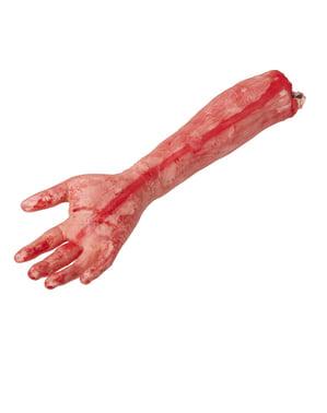 Amputerad arm i verklig storlek