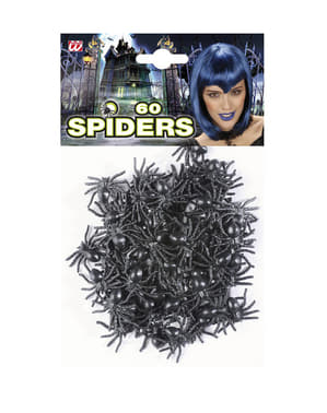 60 ragni neri Halloween
