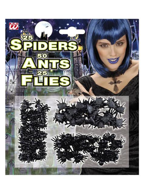 Set de insectos invasores Halloween - para tus fiestas