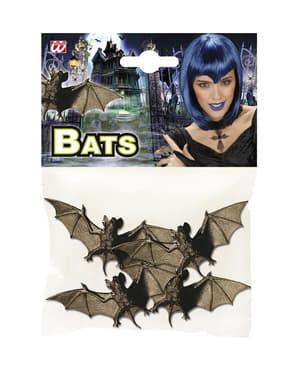 4 murciélagos nocturnos Halloween