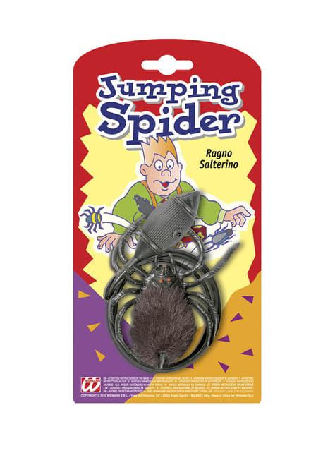 Araña peluda saltarina de broma - para tus fiestas