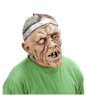 Operierter Großvater Maske