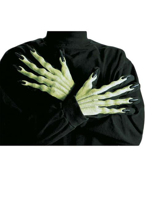 Witch gloves relief