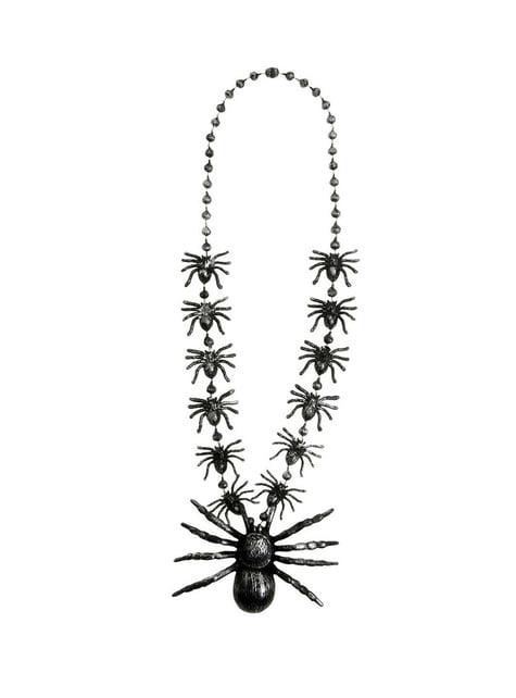 クモ付きネックレス