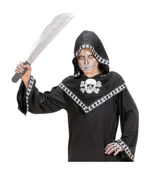 Zakrvácená mačeta