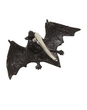 Molletta per capelli con pipistrello