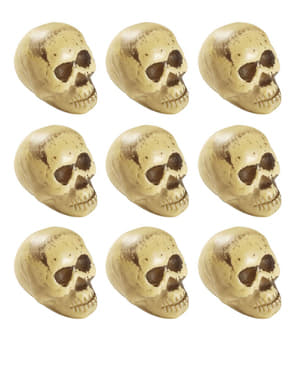 9 cranii Halloween