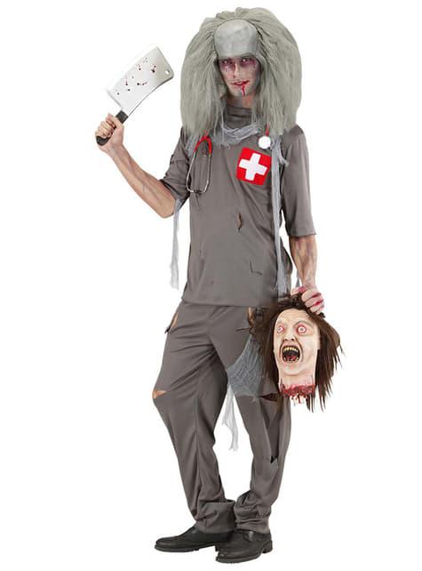Disfraz de doctor zombie - hombre