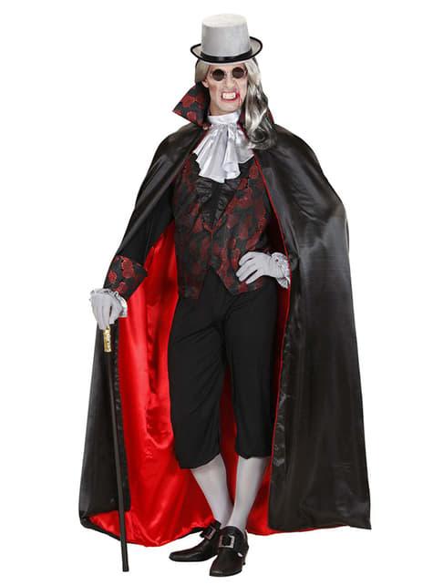 Disfraz de Conde vampiro malvado - hombre