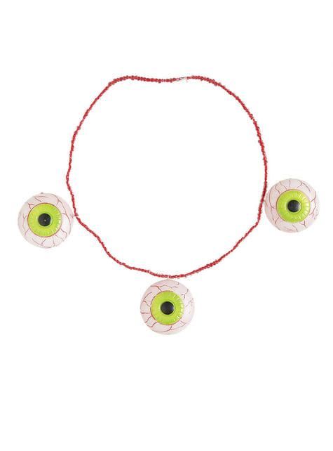 Naszyjnik z oczami