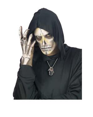 Pierścionek dłoń szkieleta