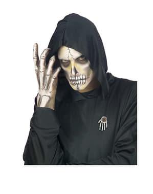 Broche mano de esqueleto