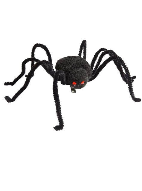 クモのヘアクリップ