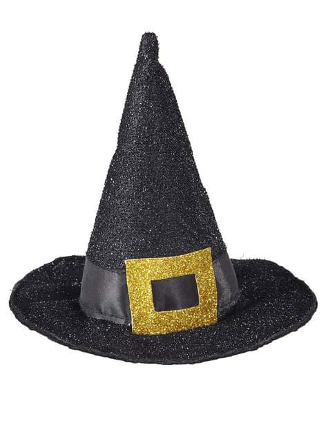 Mini sombrero de bruja clásico