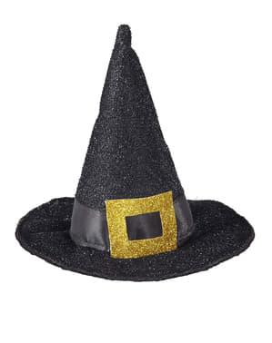 Míni chapéu de bruxa clássico