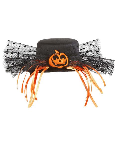 Mini tekvicový klobúk