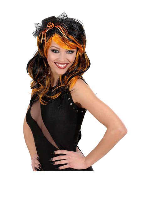 Mini Pumpkin Hat